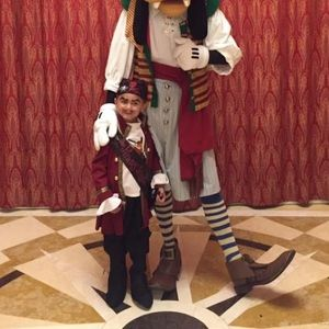 Disney Cruise Line Captain Hook Costume